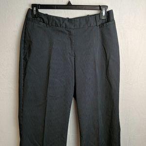 Worthington black and white striped slacks…